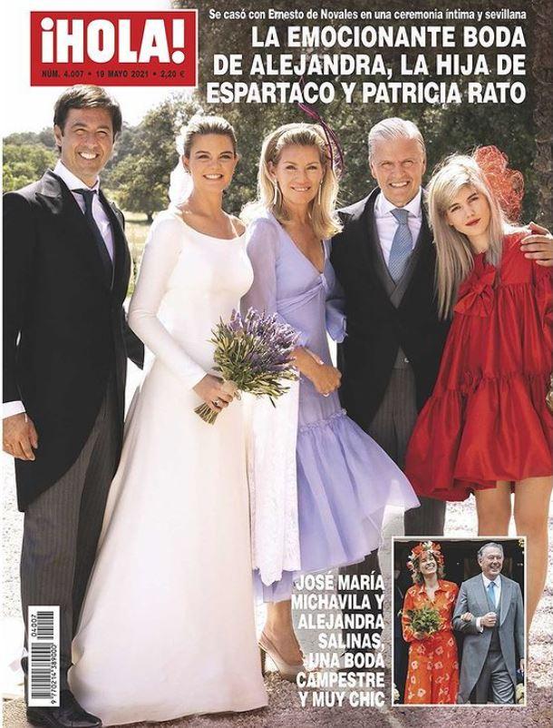 La boda de la hija de Espartaco