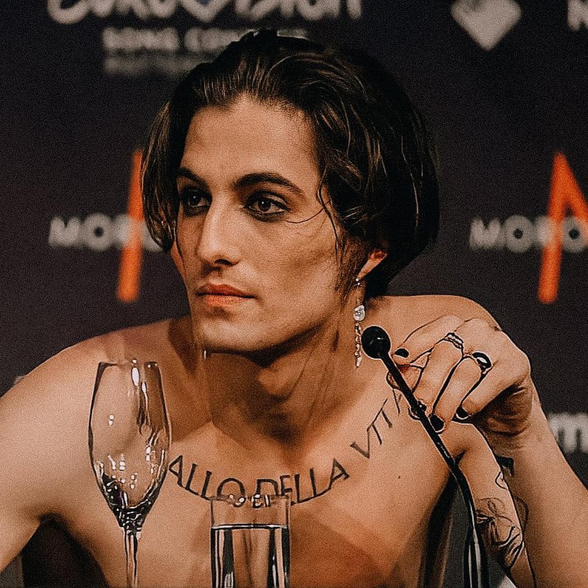 Damiano David, el cantante de Italia en Eurovisión que se ha convertido en el crush de Europa