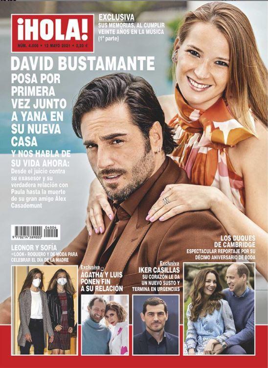David Bustamante portada de Hola