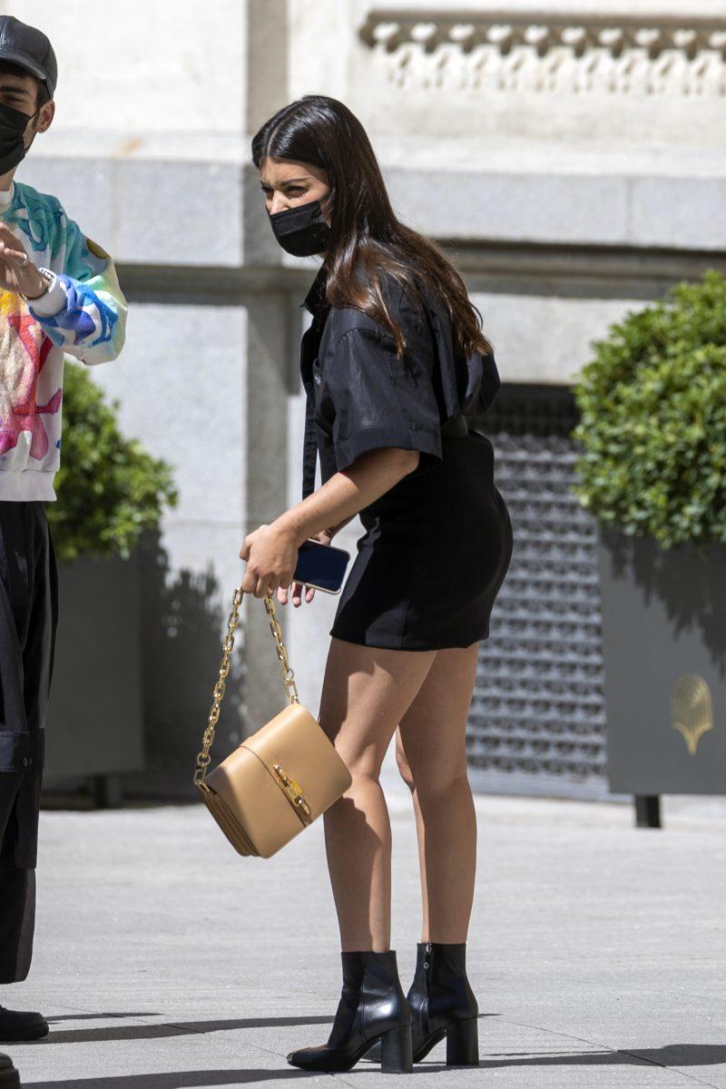 Dulceida postureo en Madrid