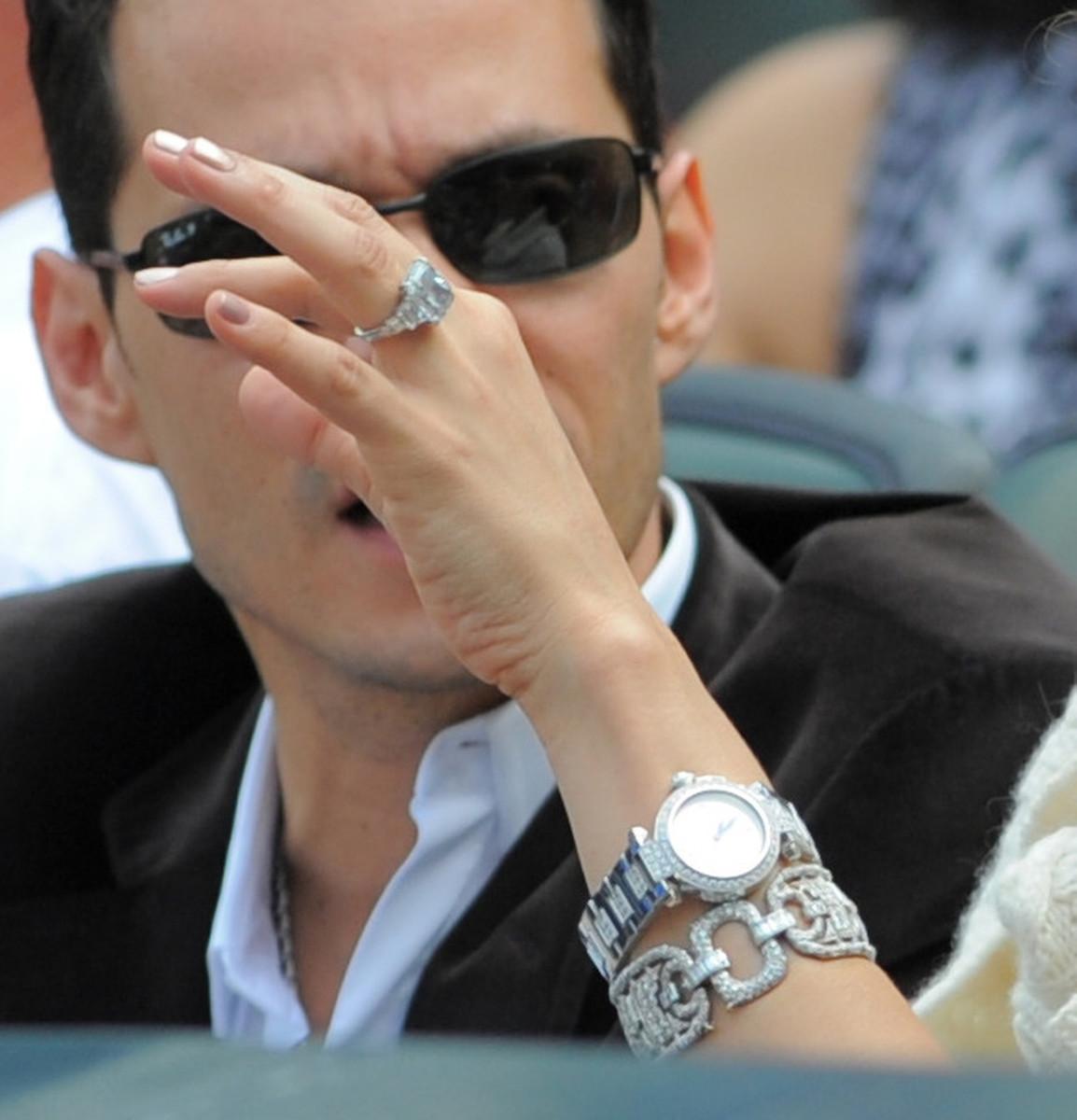 La fortuna que tiene Jennifer López en anillos de compromiso
