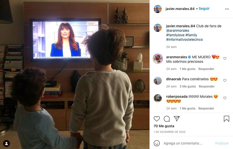 Los sobrinos de Arancha Morales