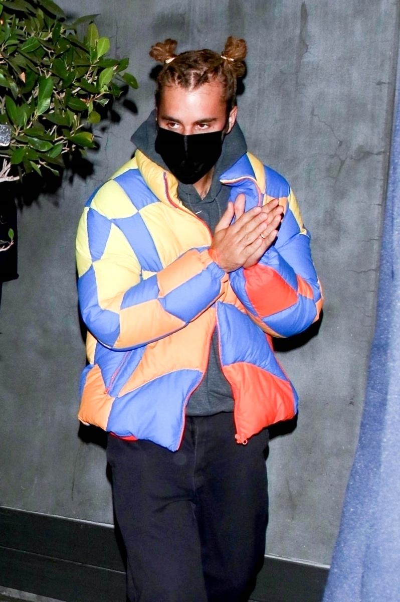 Justin Bieber nuevo look