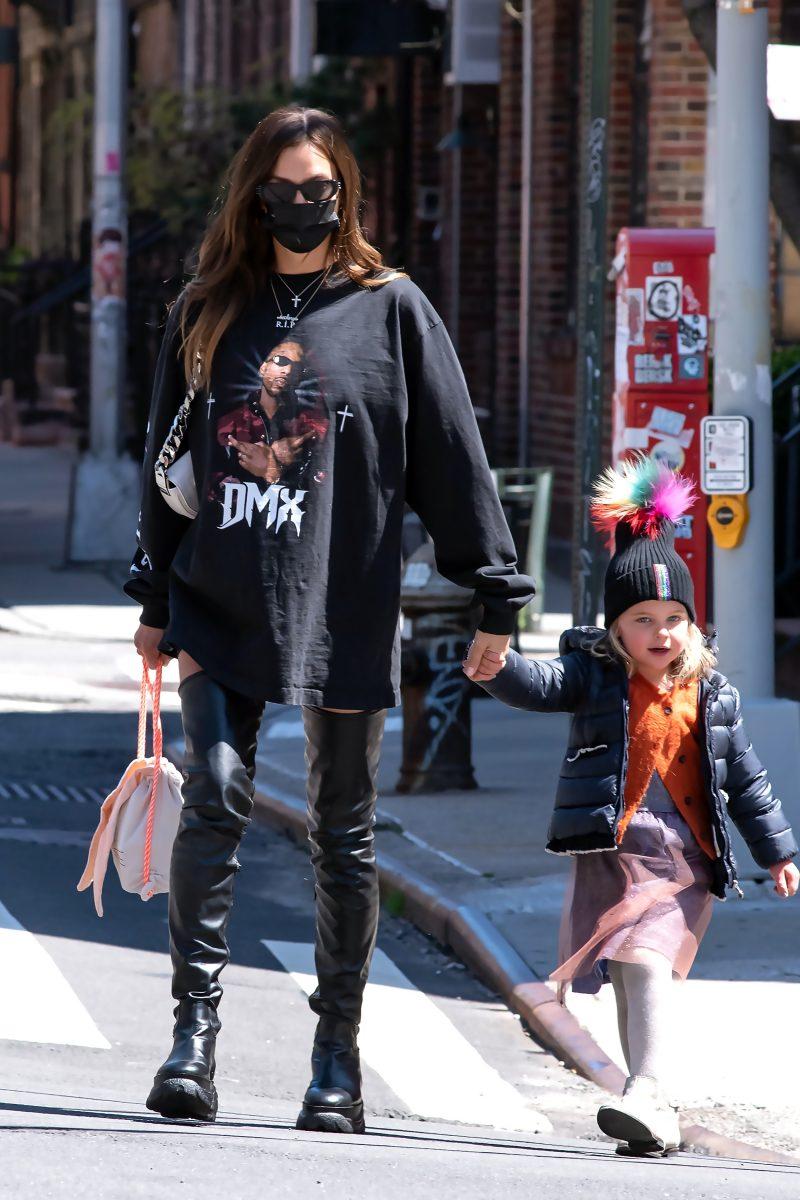 Kanye West Irina Shayk juntos