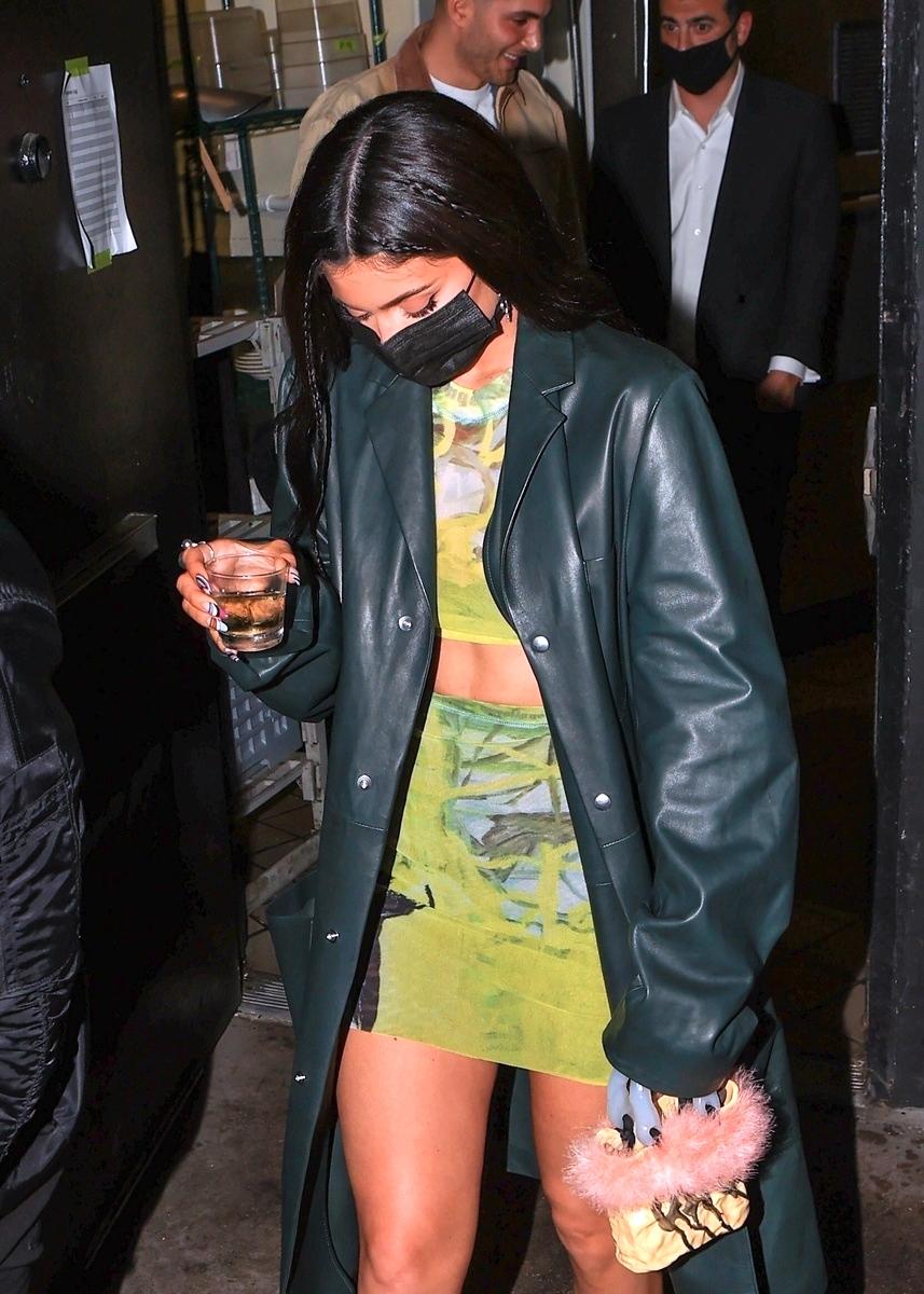 Kylie Jenner de fiesta