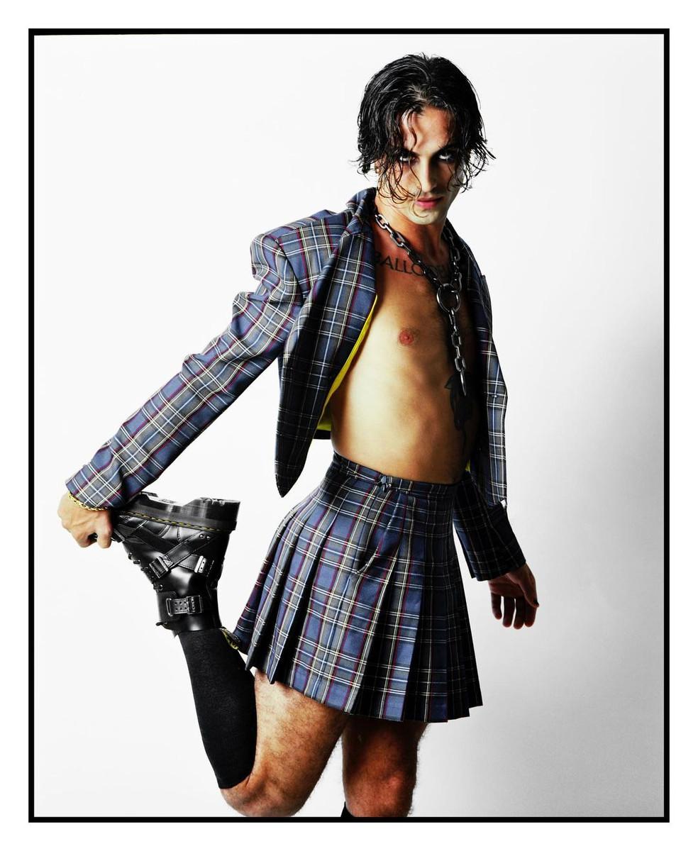 la falda de Damiano David que no vas a olvidar