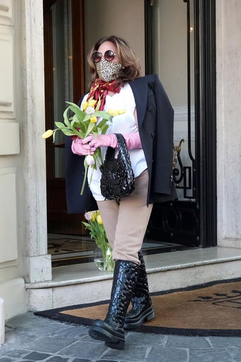 Lady Gaga descanso rodaje
