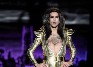 Mario Vaquerizo vestido de mujer