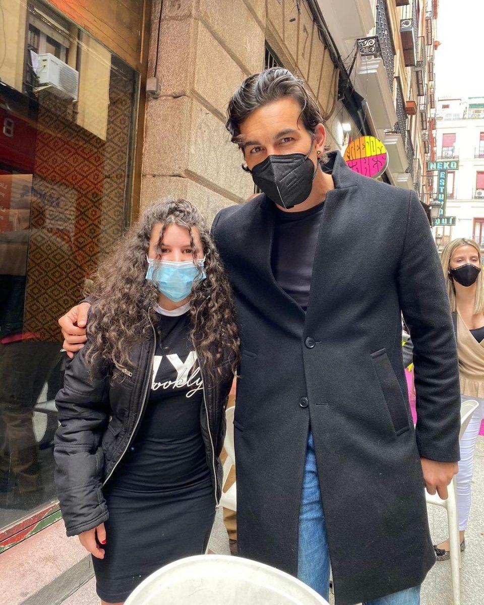 Mario Casas y Carla Vigo juntos