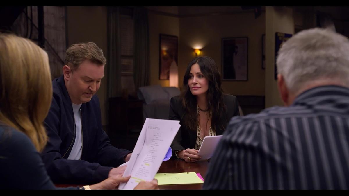 Lectura de guion, otro de los momentazos de Friends