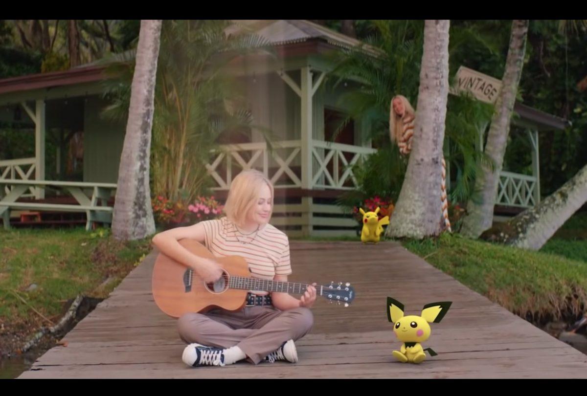 Fotograma del nuevo vídeo de Katy Perry, Electric