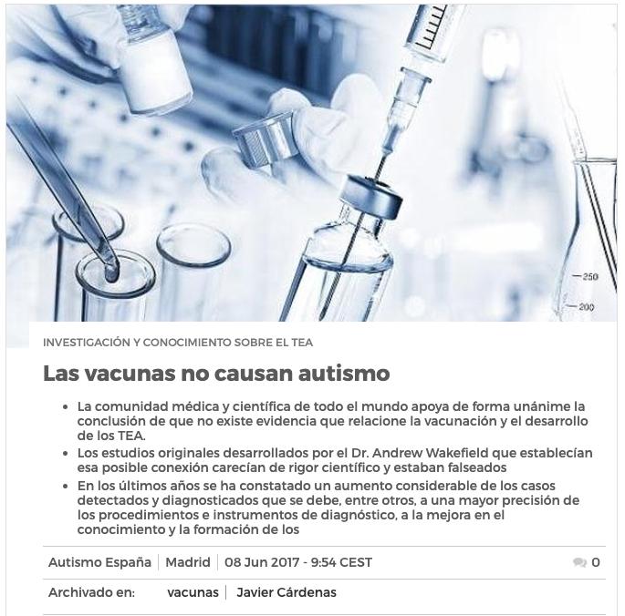 Captura de autismo.org