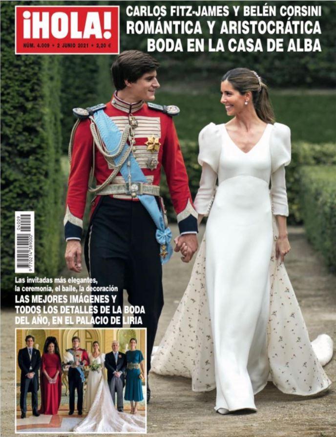 La boda de la casa de Alba en portada