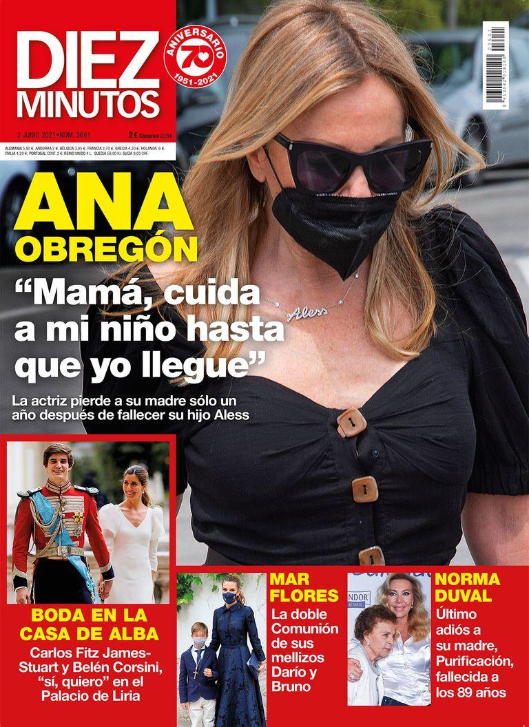 Ana Obregón en portada