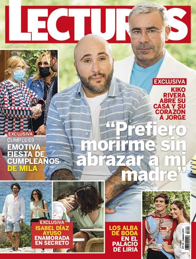 Isabel Díaz Ayuso y su nuevo novio portada Lecturas