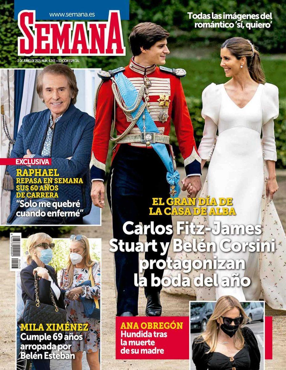 La boda de Carlos y Belén Corsini