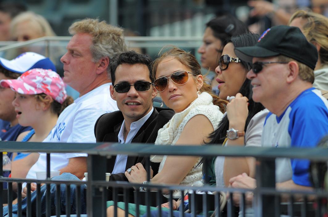 Marc Anthony con Jennifer Lopez