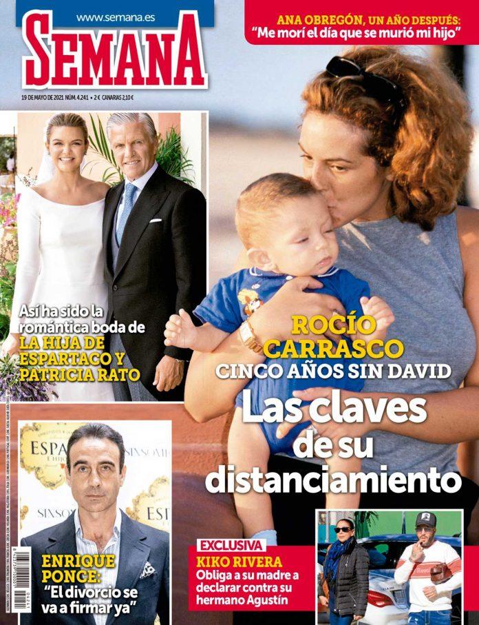 Rocío Carrasco en portada de Semana
