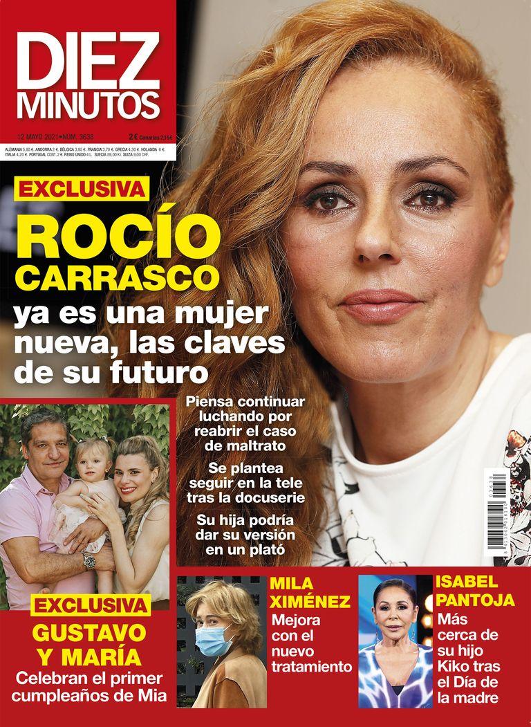 Rocio Carrasco portada Diez Minutos