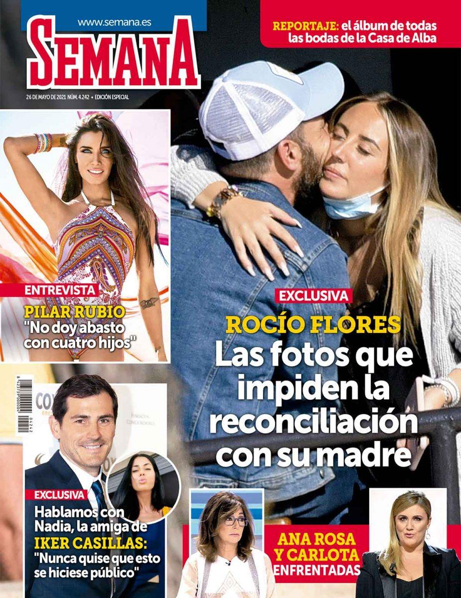 Rocío Flores y Antonio David portada de Semana