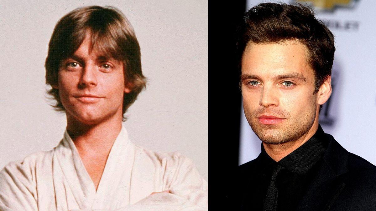 Sebastian Stan favorito de los fans para meterse en la piel de Luke Skywalker