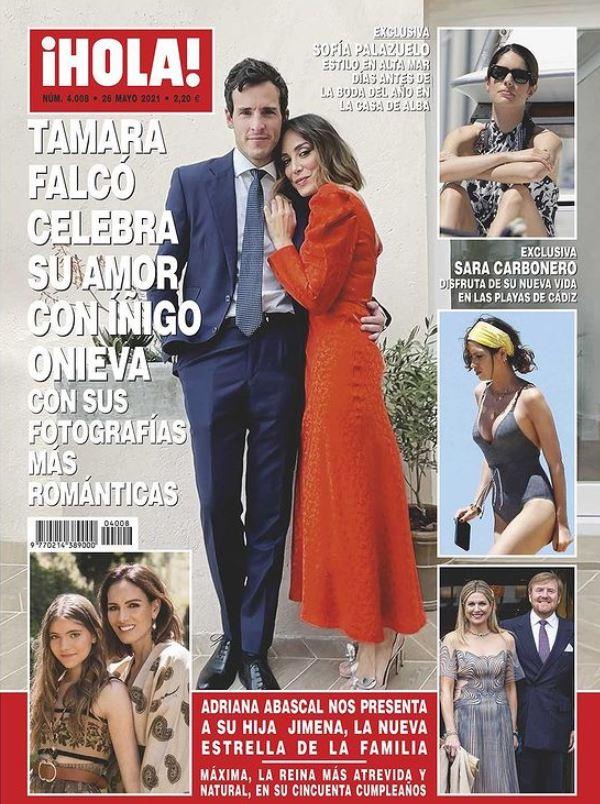 Tamara Falco e Iñigo Onieva en portada