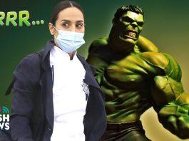 Tamara falcó se convierte en Hulk