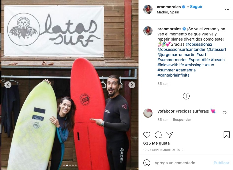 Arancha Morales y Marron