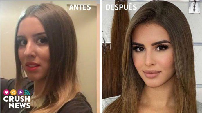 El antes y el después de Marina