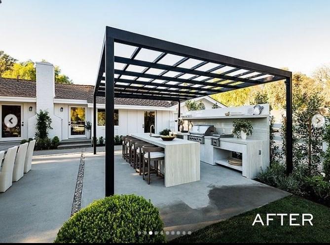 Casa remodelada por las Kardashian en remodelando con celebridades fotos después