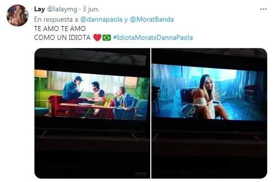 Danna Paola y Morat estrenan nuevo tema Idiota