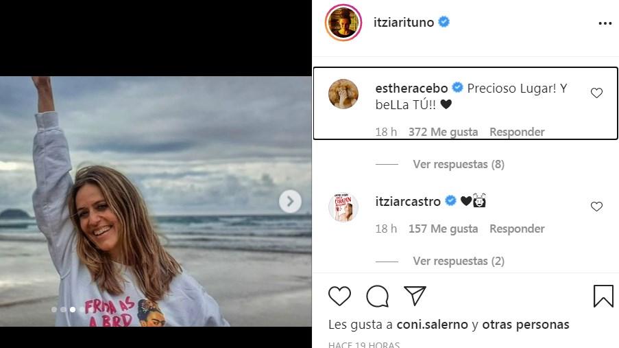 Fotos de Itziar Ituño en la playa emocionaron a sus seguidores