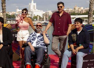 Maricón perdido es la serie que Bob Pop y su elenco de protagonistas presentó en Málaga