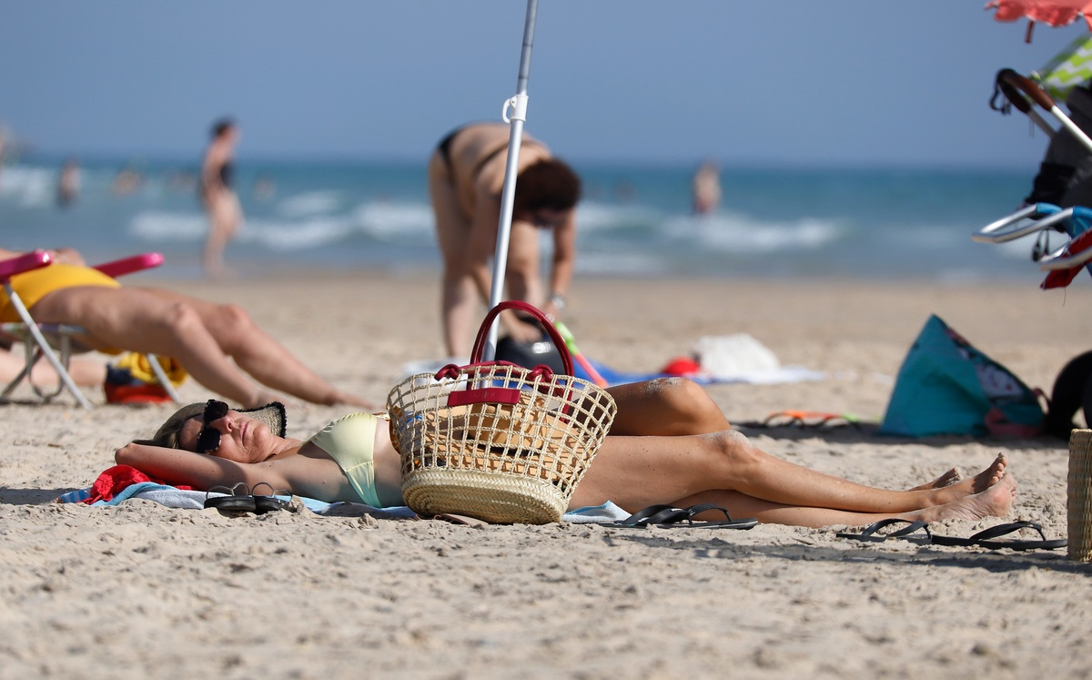 Paz Padilla en bikini