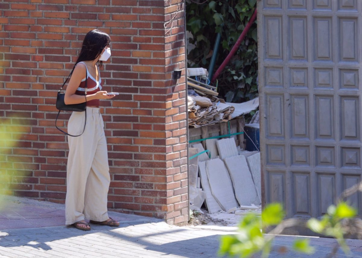 Aitana Ocaña visita las obras