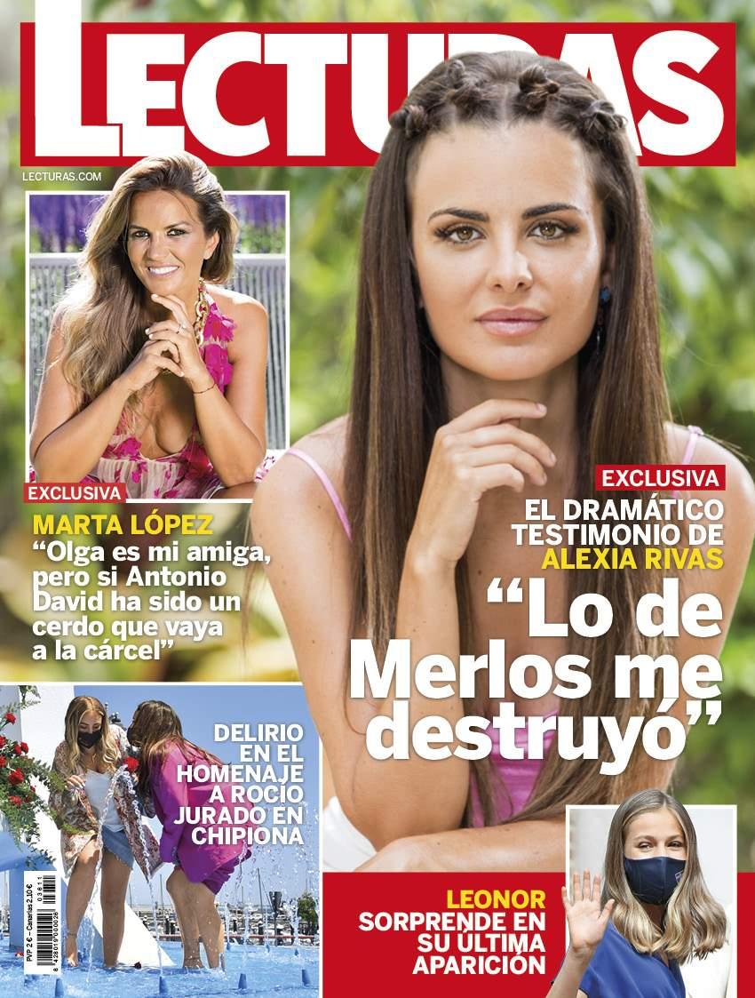 Alexia Rivas en portada