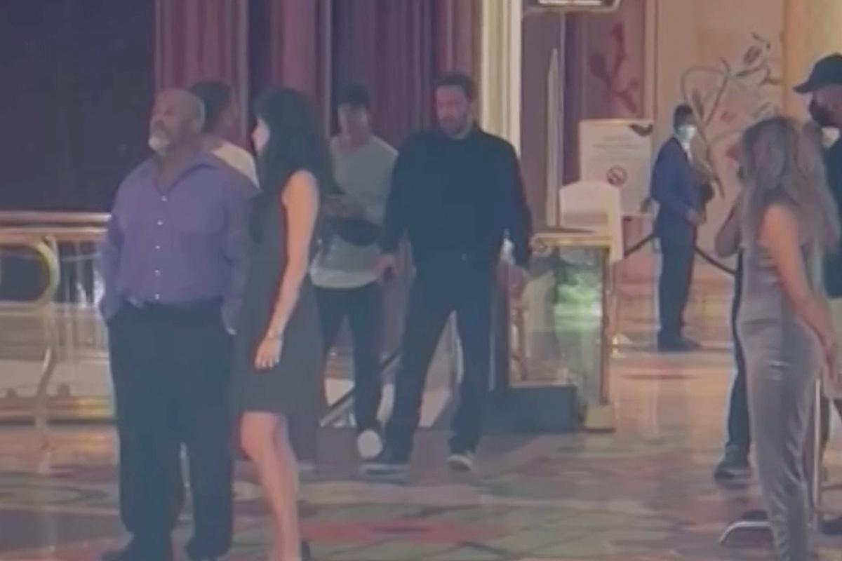 Ben Affleck en el Wynn Las Vegas