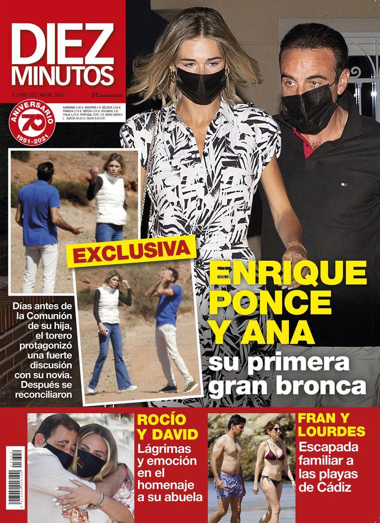 Enrique Ponce y Ana pelea