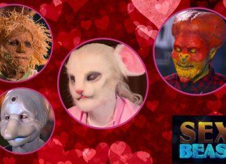 Varios de los concursantes de Sexy a lo bestia, el First Dates de Netflix versión furro