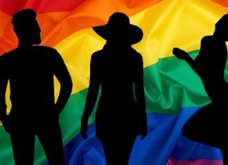 Portada de los iconos LGTB, con la bandera multicolor