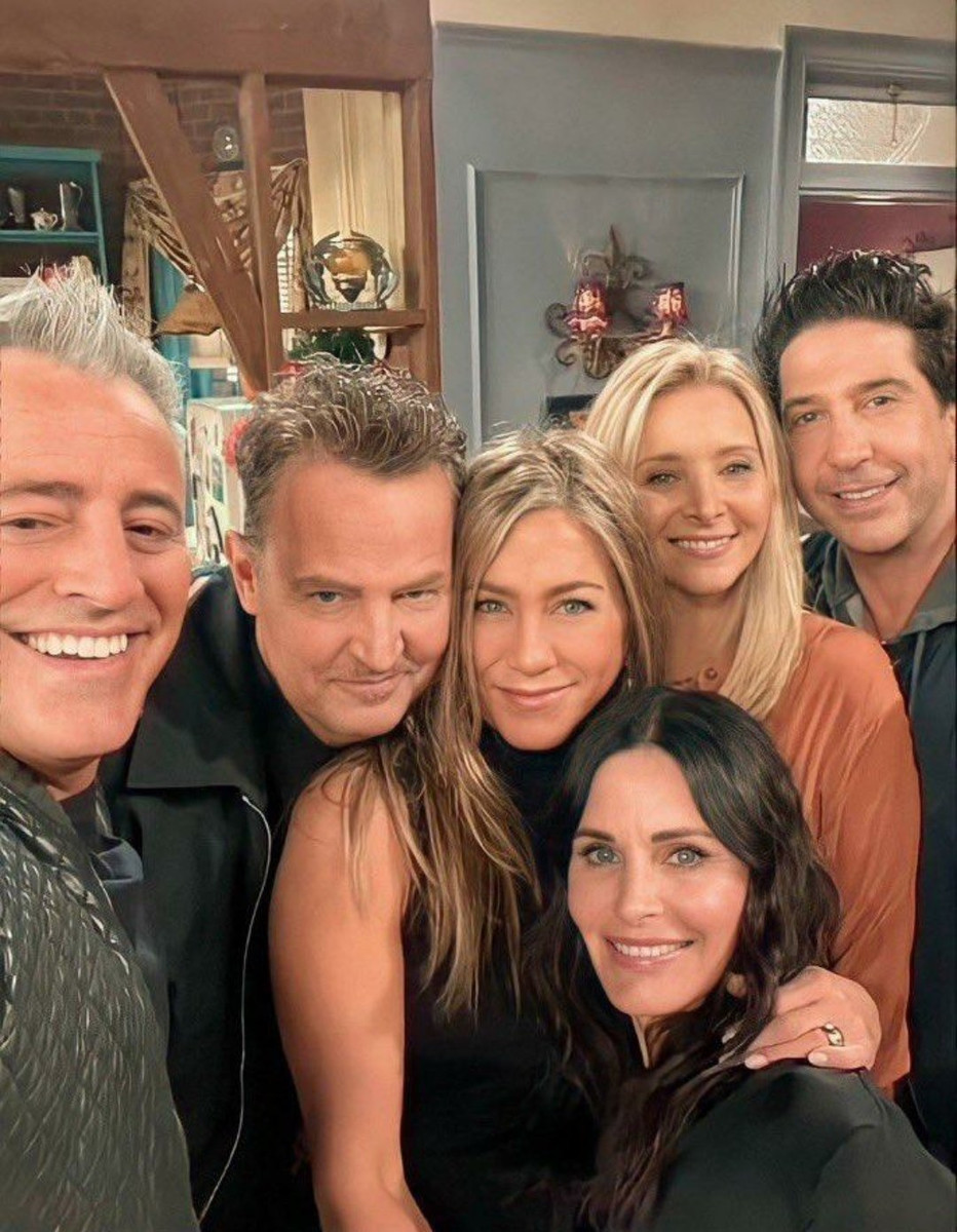 Elenco protagonista de Friends