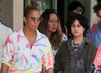 Jennifer Lopez y su hija distanciadas