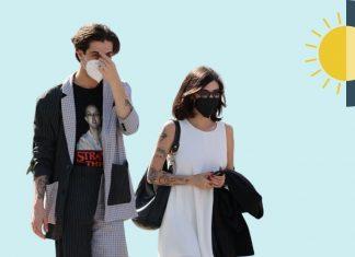Damiano David y su novia, Giorgia Soleri