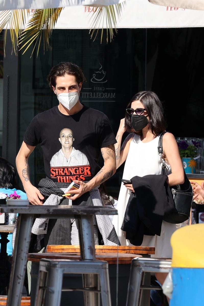 Damiano David y Giorgia Soleriate