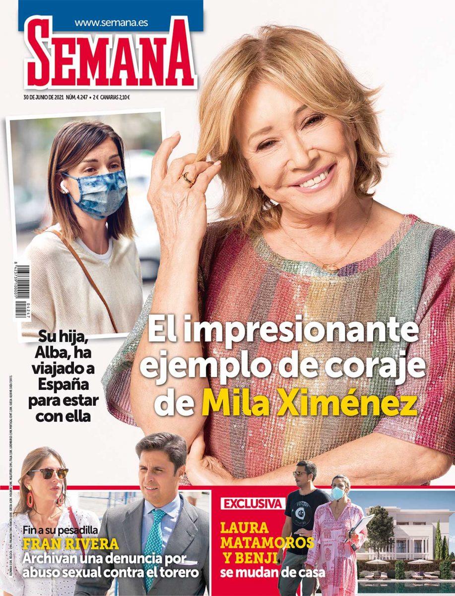 MIla Ximénez portada