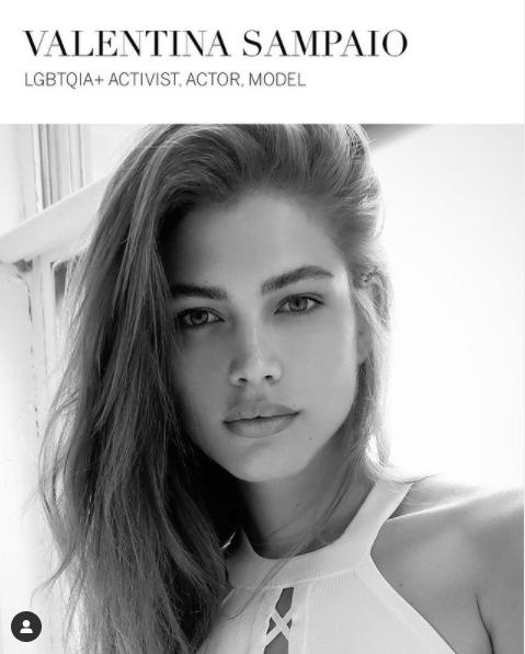 Valentina Sampaio, otra de las nuevos ángeles de Victoria's Secret