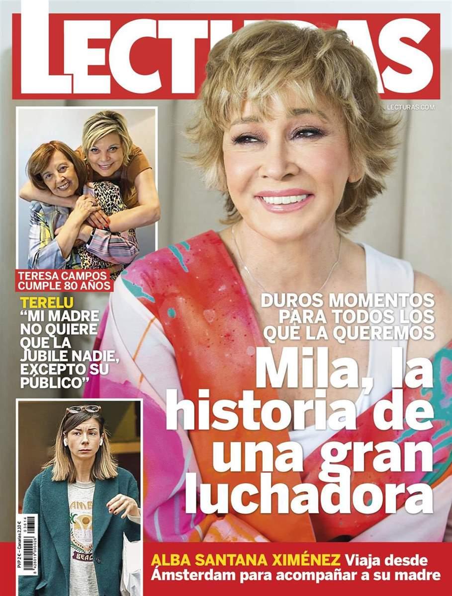 MIla, en portada