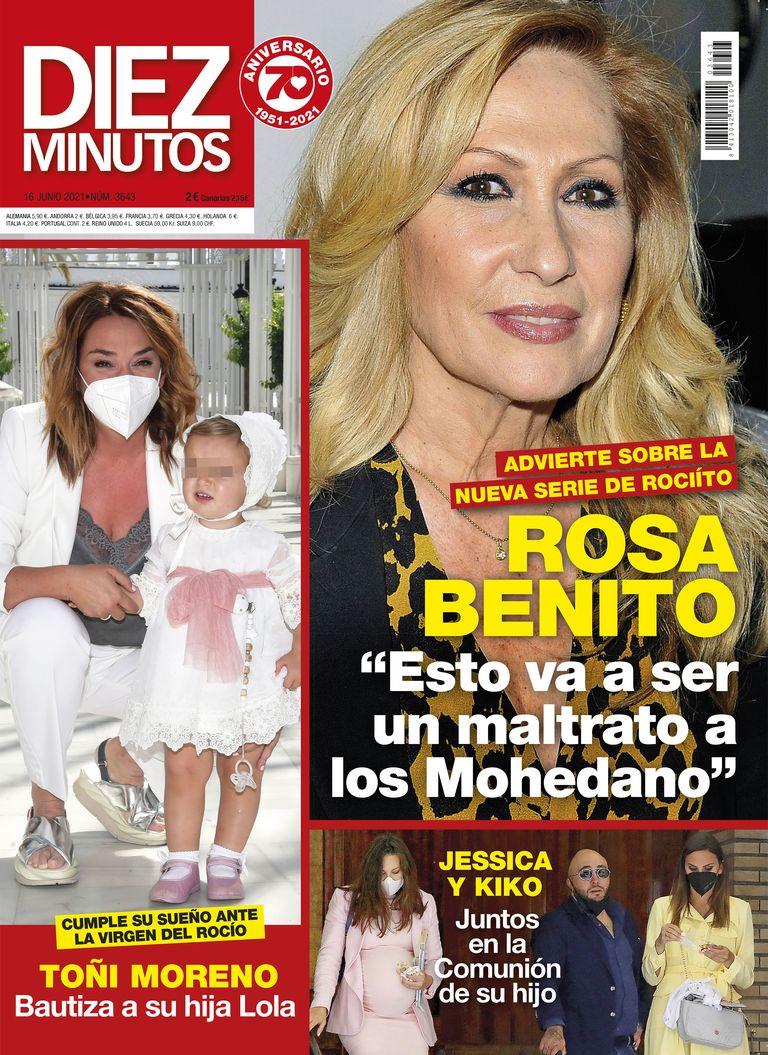 Rosa Benito portada Diez Minutos