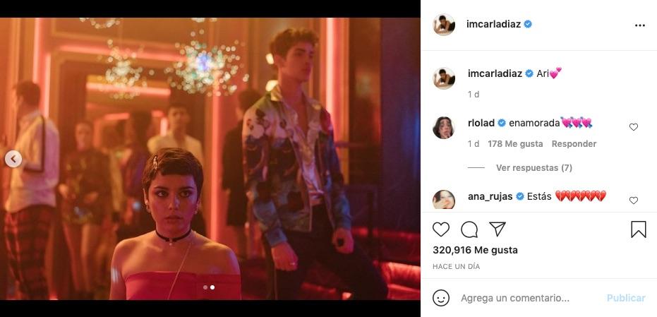Post de Carla Díaz en Instagram