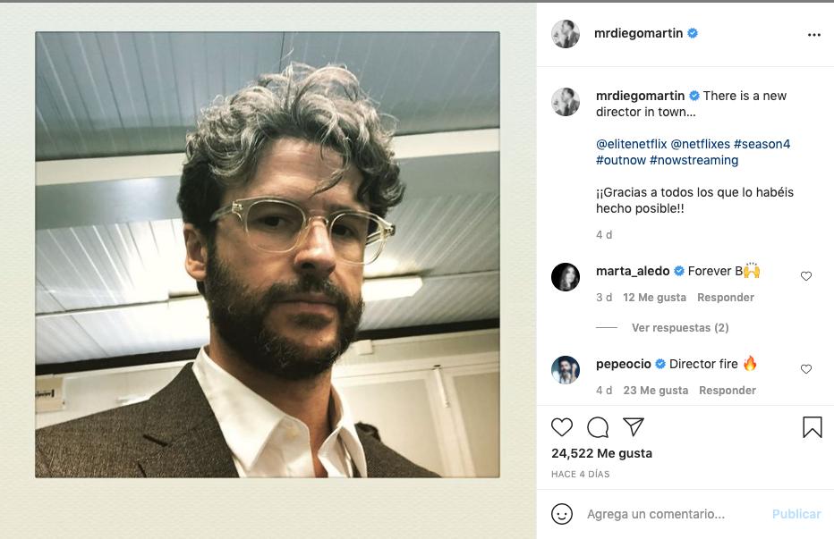 Post de Diego Martin en Instagram